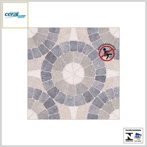 Piso Cerâmico 52x52 HD Extra PEI4 Mosaico Blue Antideslizante