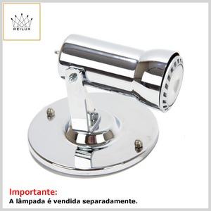 Spot de Alumínio 2501 1xGU10 Dicróica c/Difusor Direcionável