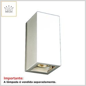Arandela de Alumínio 2268 2xGU10 Dicróica Bifocal