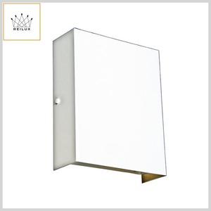 Arandela de Alumínio 10815 2xE27 Luz Bidirecional s/Vidro