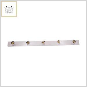 Luminária Camarim 176 Perfil Alumínio 5xE27 Sistema Clic (900mm)