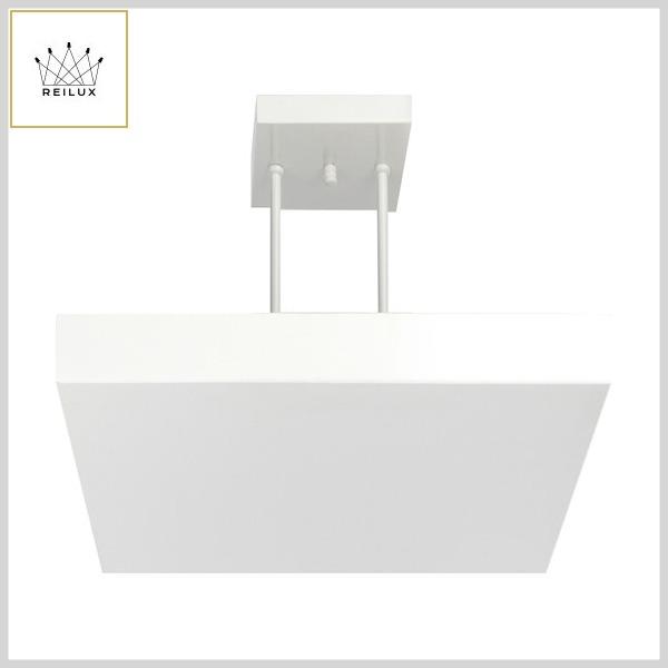 Plafon de Alumínio 2163 Quadrado 20x20cm HalógPalito c/Refletor Indireto